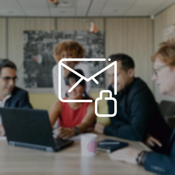 concertation equipe sns security securisation optimale messagerie entreprise