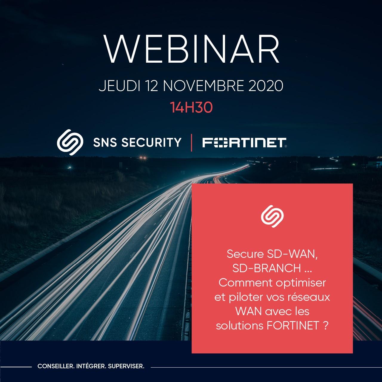webinar sns security fortinet sdwan sdbranch 12 octobre