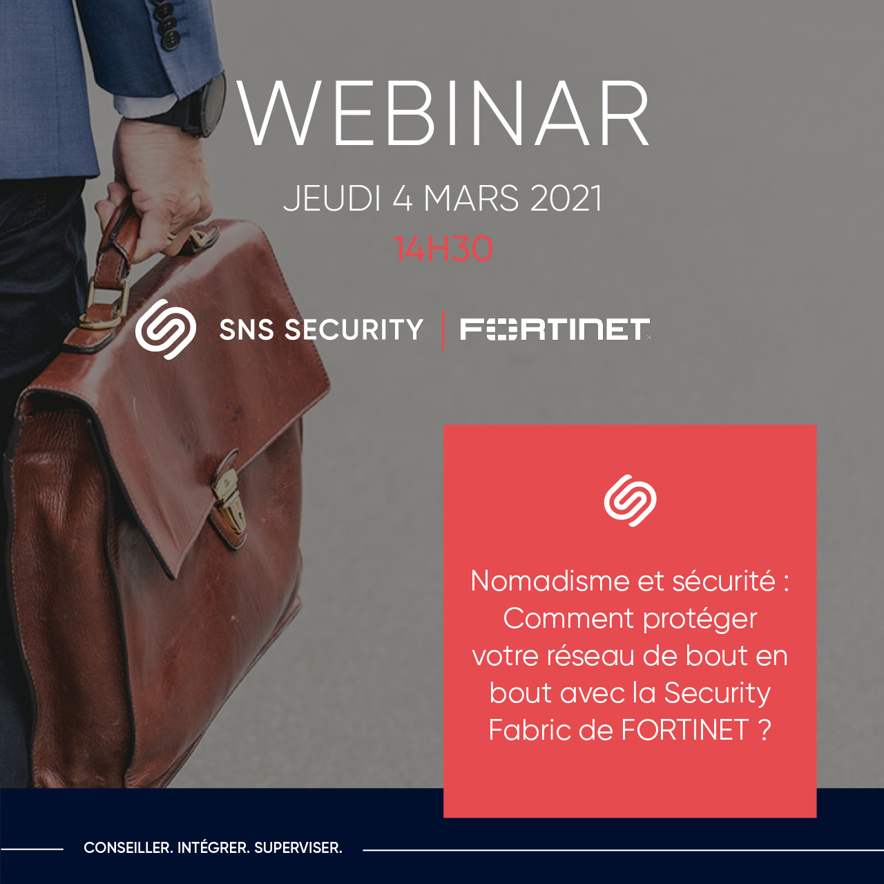 webinar sns security fortinet security fabric nomadisme cybersecurite