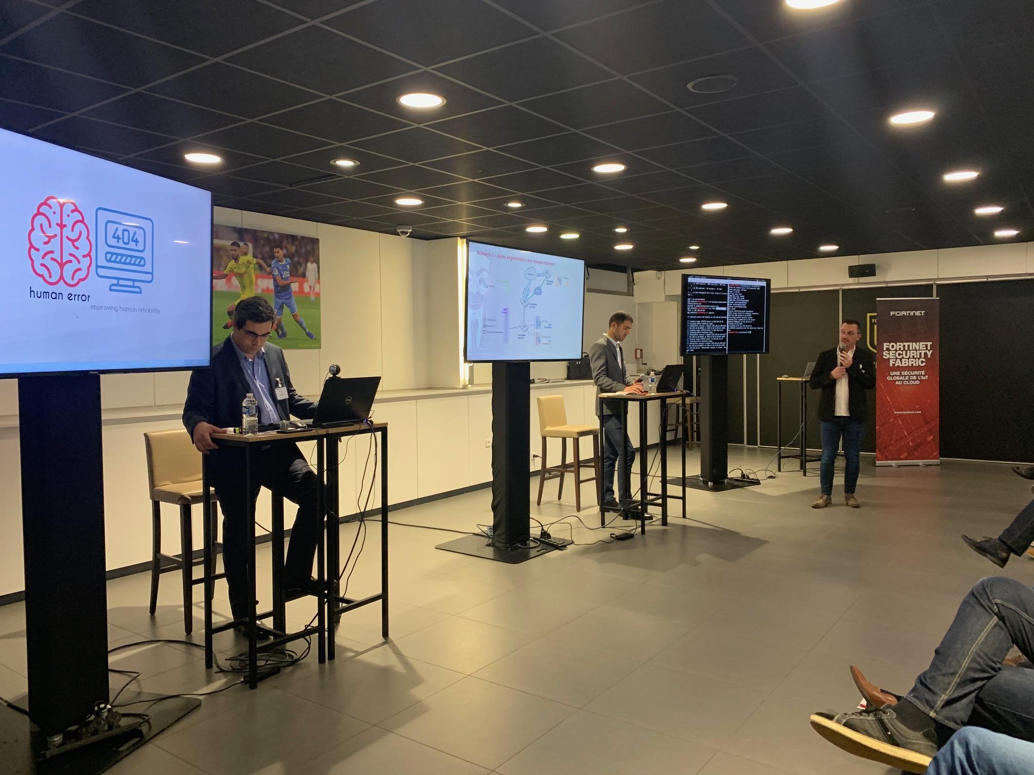 hacking lab demonstration live nantes la beaujoire 2019