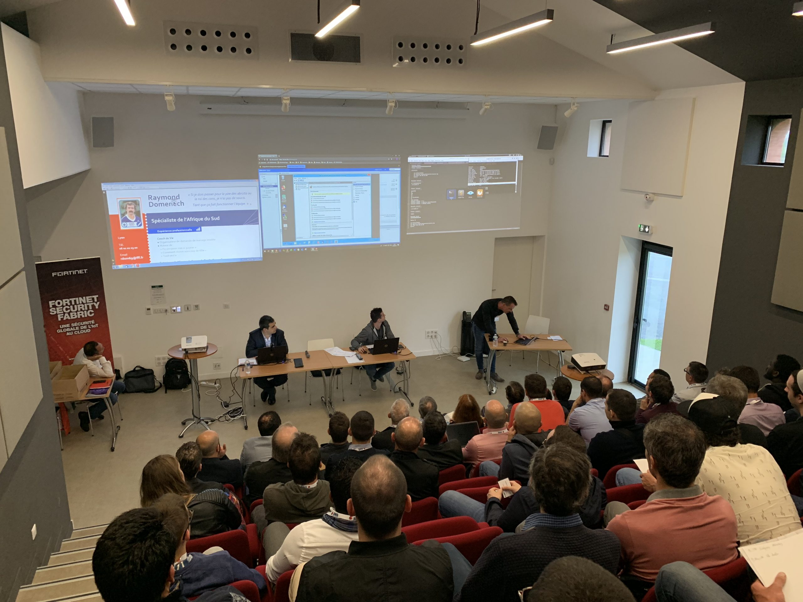 hacking lab demonstration live toulouse airbus 2019