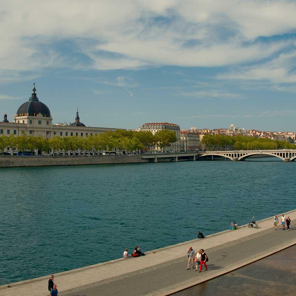 ville lyon les quais du Rhône evenement securite