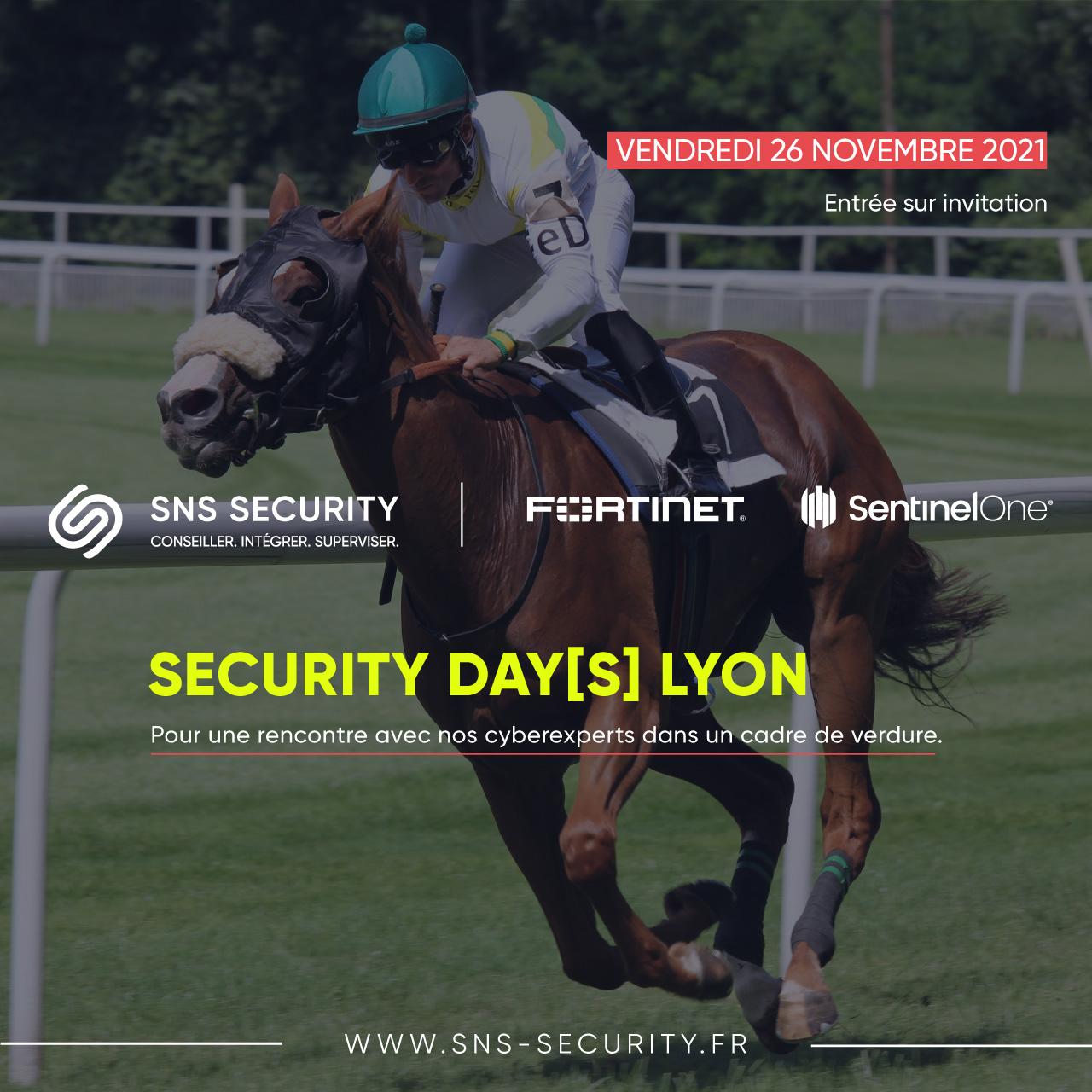 evenement security days lyon fortinet sentinelone