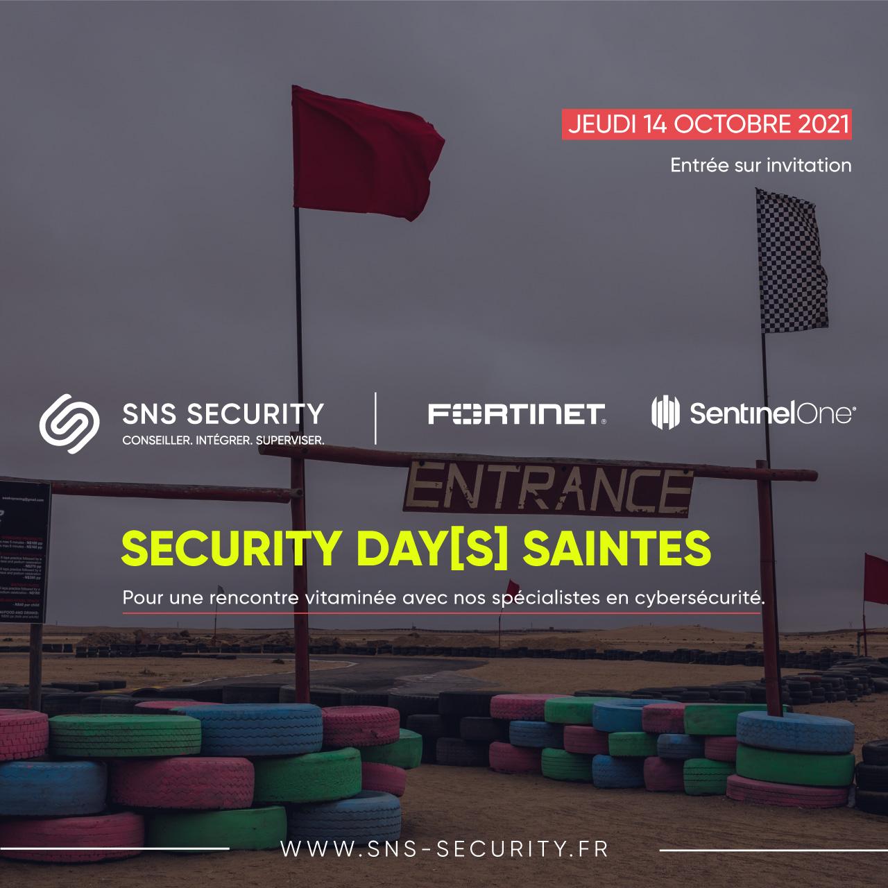 evenement security days saintes fortinet sentinelone